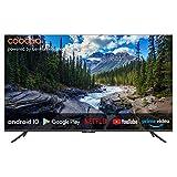 coocaa 43S6G 43 Zoll Smart 4K UHD LED Fernseher (109 cm) mit Android TV (Rahmenloses Design, Triple...