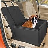 Extra Stabiler Hunde Autositz - Hochwertiger Auto Hundesitz für kleine bis mittlere Hunde -...