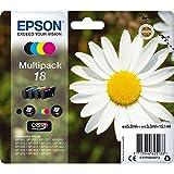 Epson Orginal 18 Tinte Gänseblümchen, XP-305 XP-402 XP-215 XP-312 XP-315 XP-412 XP-415 XP-225...