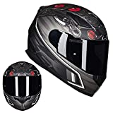 NFJ Motocross Helm, Adult Off Road Helm, Unisex Motorradhelm Cross Helme Schutzhelm ATV Helm Für...