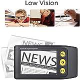 Digital Video Magnifier, 3.5 Zoll Handportable Mobile Elektronische Lesehilfe Leselupen für...
