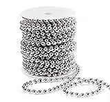 Anstore Perlenband Perlenkette Perlengirlande Perlenschnur Weihnachten Advent Hochzeit Deko...