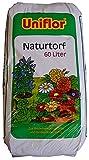 Uniflor® Gärtnertorf 60 Liter Torf Gartentorf Gärtnerqualität - Pflanzen-Erde Blumenerde