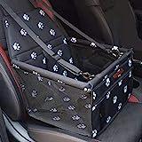 SWIHELP Hundesitz für Auto Rücksitz für kleine bis mittlere Hunde - stabiles & wasserfestes...