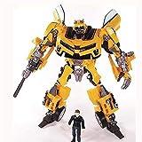 Mopoq Transformers Spielzeug, Transformation Roboter Human Alliance Hummeln und Sam Action-Figuren...