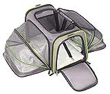 ABISTAB Hundebox faltbar Transportbox Hunde und Katze Tragetasche für Auto- und Flugreisen geeignet...