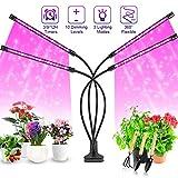 Pflanzenlampe LED, Pflanzenlicht, 40W Pflanzenleuchte, 4 Heads 80 LEDs Wachsen licht, Vollspektrum...