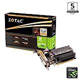 Zotac GeForce GT 730 Zone Grafikkarte (NVIDIA GT 730, 4GB DDR3, 64bit, Base-Takt 902 MHz, 1,6 GHz,...