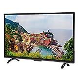 Lazmin 43 Zoll HD Curved TV, 1920 x 1200 HD 3000R Curvature Smart TV-Untersttzung Kabelgebundene und...