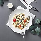 Yjdr Nordic Unregelmige Keramik Dessertteller Einfache Obstteller Speiseteller Kreative Western Food...