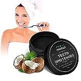 Roadwi Zahnaufhellung Pulver Zahnaufhellung Activated Charcoal Teeth Whitening Powder für Zähne...