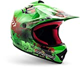 "armor HELMETS® AKC-49 ""Green"" · Kinder Cross-Helm · Motorrad-Helm MX Cross-Helm MTB BMX..."
