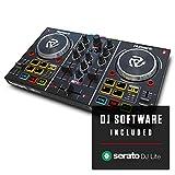Numark Party Mix 2 Kanal Plug und Play DJ Controller für Serato DJ Lite mit eingebautem Audio...