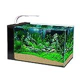 DUTUI Seitenfilter Haushalt Aquarium, Wohnzimmer, Arbeitszimmer Und Büro Desktop-Dekoration...