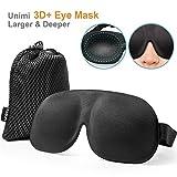 Schlafmaske für Damen & Herren, UNIMI 3D PLUS Geformte Augenmaske, Augenabdeckung Schlafmaske &...