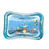 Aufblasbare Baby-Wasser-Matte Shark Infant Bauch-Zeit-Spiel-Matte Kleinkind Fun Activity Spielcenter...