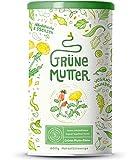 Grüne Mutter | Smoothie Pulver | Das Original Superfood Elixier u.a. mit Weizengras, Brennnessel,...