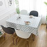 Milnsirk Tischdecke Tischschutz Abwaschbar Rechteckiger 140x200 Tischtuch Wasserabweisend PVC...