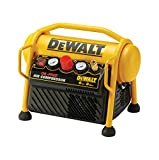 DeWalt mobiler Kompressor (1100 W, 6 L, 8 bar, kompakte Ausführung, ölfreier Motor, inkl. 5 m...