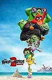 shidk 1000 Stück Puzzle Spielzeug The Angry Birds Movie 2 Filmplakate Kreative Schwierige Große...