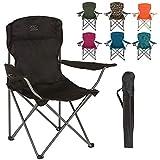 Highlander Camping-Klappstuhl - Leichter und langlebiger Outdoor-Stuhl - Perfekt für Camping,...