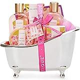 Bad Geschenkset, SPA LUXETIQUE Beauty Set Für Sie 8 tlg. Körperpflegeset Geburtstagsgeschenk...