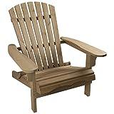 Woodside Adirondack-Stuhl - für Gärten & Terrassen - Holz