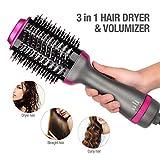 HeißLuft-HaarbüRste & Volumizer, 2-In-1 Salon Lightweight Styling Haartrockner Und Styler,...