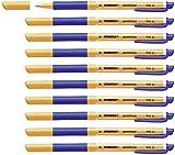 Tintenroller - STABILO pointVisco - 10er Pack - blau