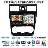 Für Subaru Forester 4 SJ XV 2012-2015 Android 8.1 Autoradio Radio Navigationssystem Pkw-Navi DAB+...
