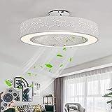 72W dimmbare LED Moderne Deckenventilator mit Licht, LED-Lampen-Deckenventilatoren, einstellbare...
