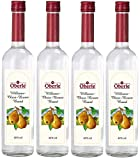 4 Flaschen Oberle William Christ Birne Obstbrand a 0,7l 40% vol.