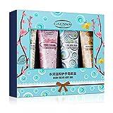 4pcs Hand Cream Gift Set,Mini Daily Moisturising Hand Cream Working Hands, Deeply Hydrating ;...