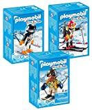 Playmobil Wintersport 3er-Set: 9284 9287 9288