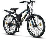 Licorne Bike Guide Premium Mountainbike in 24 Zoll - Fahrrad für Mädchen, Jungen, Herren und Damen...