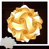 Puzzle Lampe Weiss Gre XXL Designer Lampe Hngelampe Pendellampe