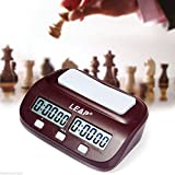 JZK PQ9907 Digitale Multifunktionsanzeige Schachtimer Schachuhr Chess Game Clock elektronisches...