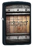 ZIPPO - Zippo Design, Color Image - Black Matte - Sturmfeuerzeug, nachfüllbar, in hochwertiger...