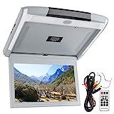 Akozon Car Overhead Monitor Bildschirm 11,6 Zoll 1920 x 1080 12V Netzteil mit USB TF HDMI FM...
