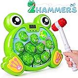 Rolimate Interaktives Spiel Hammerspiel Spielzeug, Whack A Frog Feinmotorik, Entwicklung...