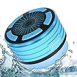 Bluetooth Dusch Lautsprecher Wasserfester Wireless Speaker mit FM Radio Tragbarer Wireless...
