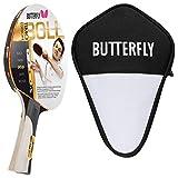 Butterfly Timo Boll Gold Tischtennisschläger + Cell Case Tischtennishülle |...