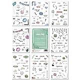 Snaplay I 201 Gästebuch Hochzeit Sticker I Watercolor & Scrapbooking Sticker Hochzeit Design I...