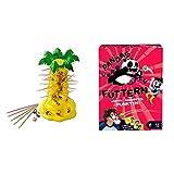 Mattel Games 52563 - S.O.S. Affenalarm Kinderspiel geeignet für 2 - 4 Spieler, Kinderspiele ab 5...