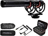 Kamera Mikrofon Comica CVM-VM20 Kondensator Schrotflinten Mikrofon für Canon Sony Nikon...