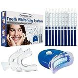 Teeth Whitening Kit,Zahnbleaching Gel,Zahnaufhellung Set - Gegen Gelbe Zhne,Rauchflecken,Schwarze...