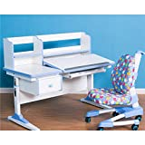 WUJIA Mount-It! 802+605 Kinderschreibtisch und Stuhl-Set, höhenverstellbar, ergonomisch, mit...