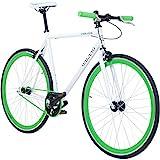 Galano 700C 28 Zoll Fixie Singlespeed Bike Blade 5 Farben zur Auswahl, Rahmengrösse:59 cm,...