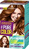 SCHWARZKOPF #PURE COLOR Coloration, Haarfarbe 7.57 Karamell-Krokant Stufe 3, 1er Pack (1 x 143 ml)
