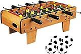 YUHT Tischfußball Aus Holz Tischkicker Tischfußball Family Fun Game - Indoor- Und...